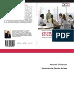 Libro Decolonizar Las Ciencias Sociales. Investigación Decolonial