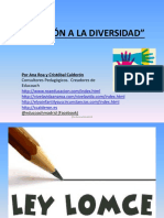 Atender a la Diversidad