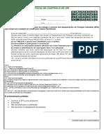 Ficha de Controle de Epi (Em Branco)