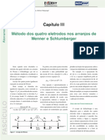 Ed 134 Fasciculo CapituloIII Metodo Dos Quatros Eletrodos Nos Arranjos Wenner e Schlumberger