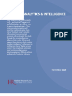 Harbor Research - Smart Services, Product Analytics, & Intelligence
