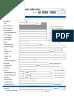Formulir Daftar Ulang