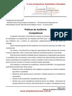 Práticas de Auditoria-Competência