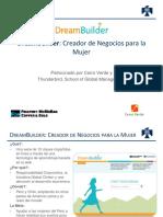 DreamBuilder Presentation (Peru) Empresarias