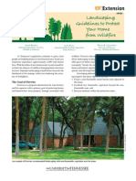 Landscaping Guidelines to Protect Your Home From Wildfire