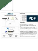 D-Link DSL-2640B - Manual de Instalação