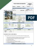 Ficha Tecnica Y Mantenimiento 22