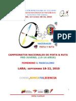 1FVCCAMPEONATOSNACIONALESDEPISTA&RUTALARA2010PRE-juvenil