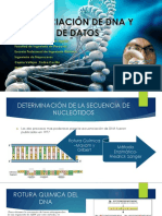 Secuenciacion de Dna y Analisis de Datos