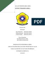 Makalah Sistem Termodinamika
