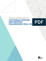 Victorian Suicide Prevention Framework 2016-25