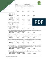 Práctica álgebra básica
