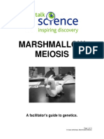 Marshmallow Meiosis Manual