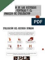 Evaluación de Los Recursos Humanos