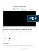 GRE Preparation Online Course _ Ace Quantitative Aptitude of the GRE Exam