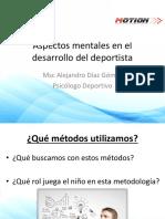 Aspectos Mentales en El Desarrollo Del Deportista (Prof. Alejandro Díaz)