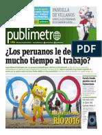 Publimetro 3 de Agosto 2016 - Publimetro