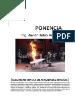 Presentacion Ponencia Seguridad Minera