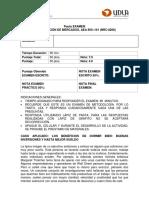 Examen Investigacion de Mercados Diurno2014-2