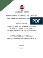 La evaluación del lenguaje y la literatura tesis.pdf