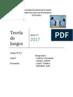 Informe Del Proyecto Teoria de Juegos