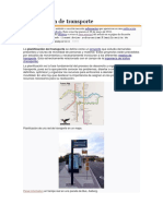 Planificación de Transporte