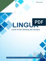 LINGUA STBA LIA (Vol. 11, No. 2,  March 2016)