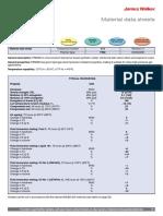 James Walker - FR58 90 Data Sheet 2009