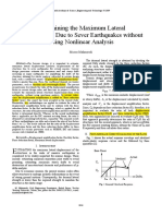 01_Determining the Maximum Lateral Displacement Due to Sever Earthquakes Wi...