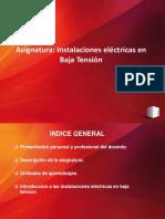Clase 01- Introduccion Instalaciones Electricas en Baja Tension