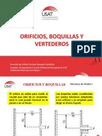 Mecanica de Fluidosi-Orificios Boquillas y Vertederos
