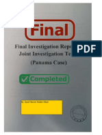 Final Investigation Report of Joint Investigation Team (Panama Case) - Pakistan