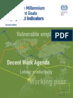 Guide Millennium Development Goals Employment Indicators