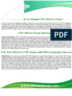1D0-61A Exam - CIW Internet Business Associate Exam