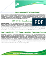 1D0-610 CIW Web Foundations Associate Exam