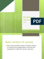 C1L0 Revision of Vectors