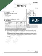 HN1K02FU Datasheet