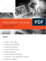 Nosql Databases What and Why