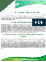 1z0-068 Dumps | Oracle Data Management Exam Updated