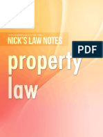 Nick's Notes - Property