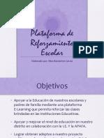 Plataforma de Reforzamiento Escolar