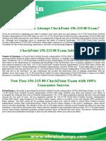 CheckPoint  156-215.80 Exam Dumps