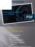 Photo Journalism In A Flash (Top 10 Pointers For Photo Journalists)