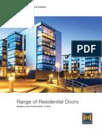 Residential Door Catalogue Active Window Solution.