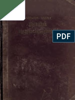 Diccionario Fonético Alemán gsehF