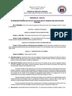 Cagayan de Oro City Revenue Code of 2015