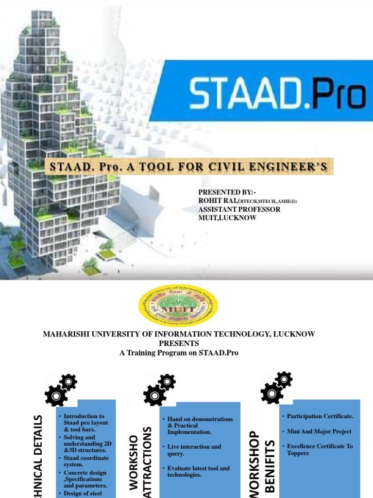 staad pro | Engineer | Engineering