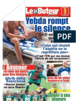 LE BUTEUR PDF du 05/08/2010