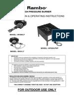 Ok RH31LT HP200LP HP200LPWF Operating Instruction With Brochure