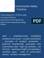13CE915 Construction Safety Practices